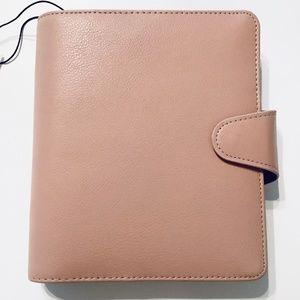 Kikki.k Leather Planner B6 Medium Vintage Rose
